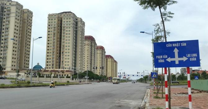 Tăng diện tích đất ở và làm đường trong khu tái định cư dự án cầu Nhật Tân