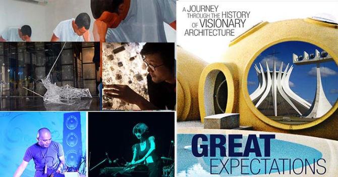 Giải trí cuối tuần: Khi hội họa, âm nhạc và kiến trúc hòa làm một