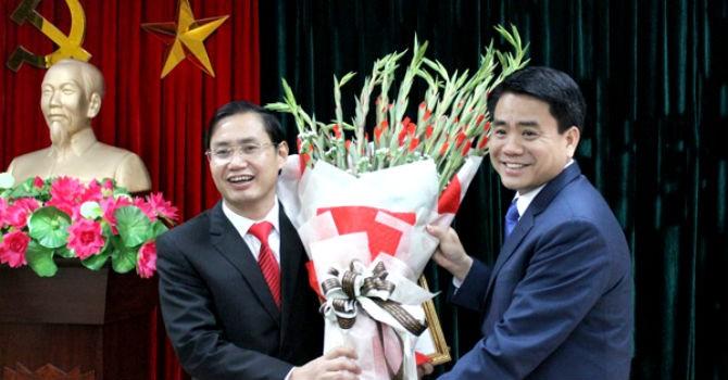 Hà Nội công bố quyết định bổ nhiệm 3 giám đốc sở