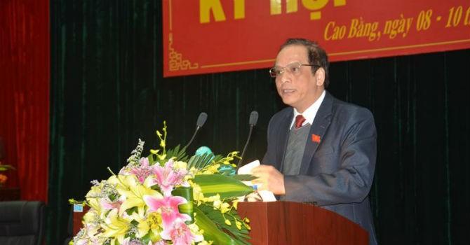 Thủ tướng phê chuẩn chức danh phó chủ tịch hai tỉnh Cao Bằng, Nam Định