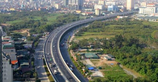 Hà Nội chuẩn bị làm đường Vành đai 3,5 đoạn Quốc lộ 6-cầu Ngọc Hồi