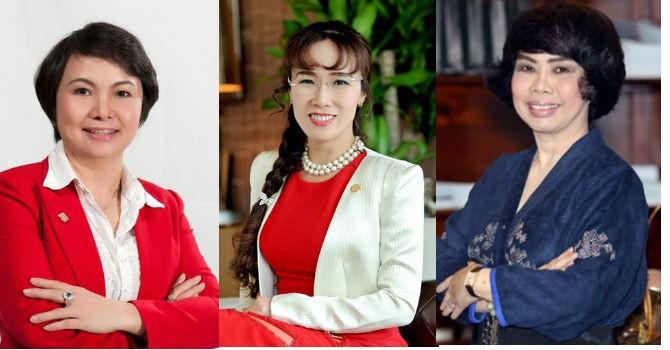 3 nữ doanh nhân Việt lọt top quyền lực nhất Châu Á