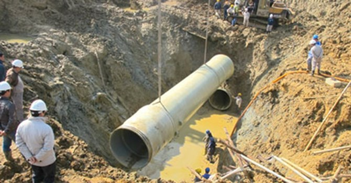 Viwasupco giao công ty mẹ làm nhà thầu đường ống nước Sông Đà 2
