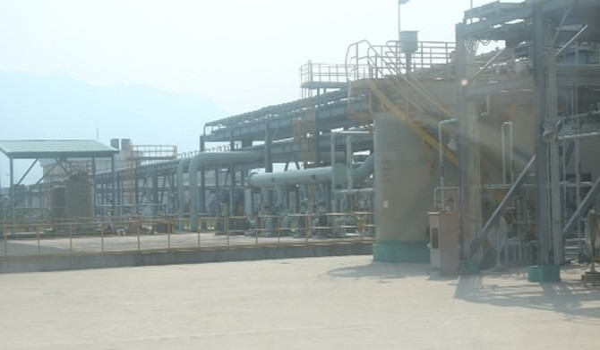 Cận cảnh đường ống xả thải của Công ty Formosa Hà Tĩnh