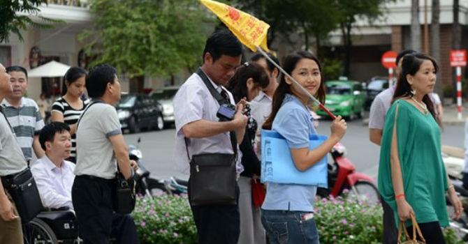 Khách Trung Quốc chiếm gần 1/4 lượng khách đến Việt Nam 4 tháng đầu năm