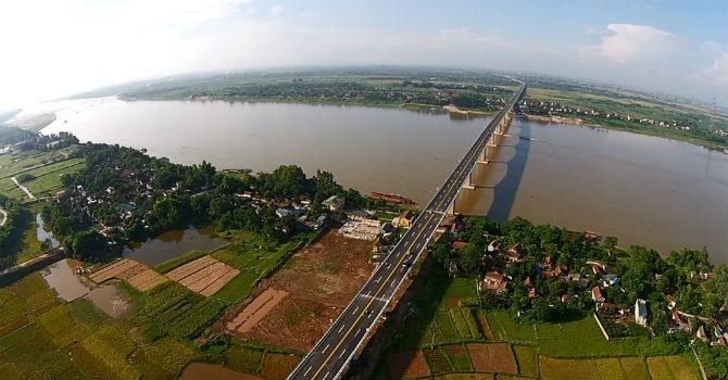 Địa ốc 24h: Sắp có siêu công trình xuyên Á hơn 1 tỷ USD dọc sông Hồng