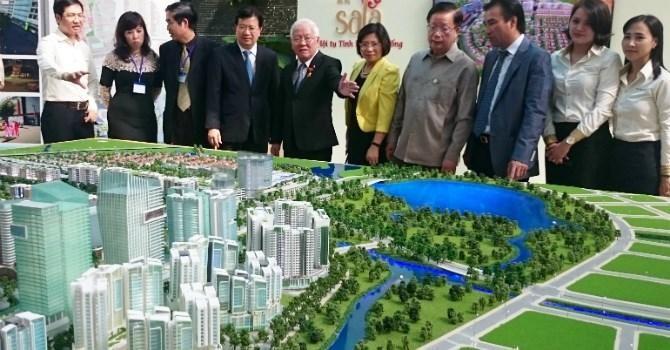 TP.HCM chỉ định nhà đầu tư làm khu phức hợp trung tâm hội nghị tại Thủ Thiêm