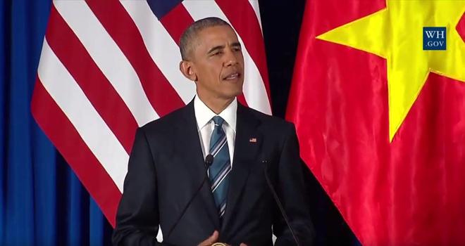 Tường thuật ngày làm việc đầu tiên của Tổng thống Obama tại Hà Nội
