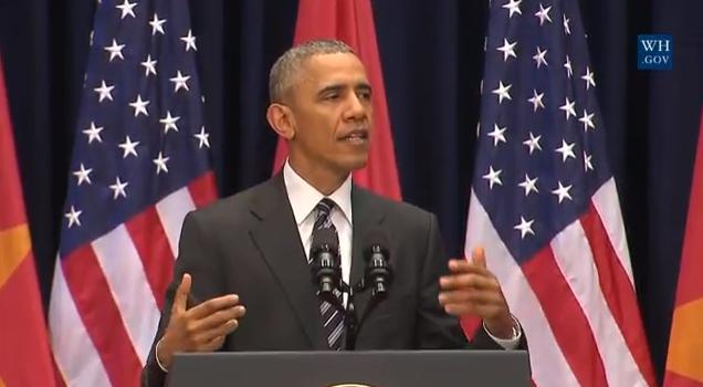 Bài phát biểu Obama đã chạm được vào trái tim hàng nghìn startup Việt