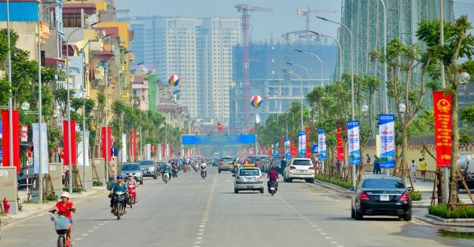 Giá đất bồi thường giải phóng mặt bằng đường Định Công cao nhất 48,6 triệu đồng/m2