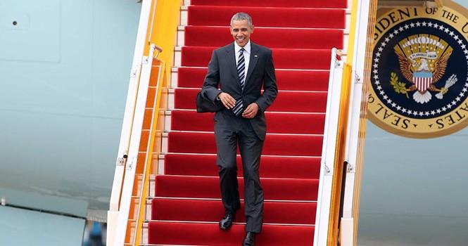 Tổng thống Obama giao lưu với doanh nhân, ông Đinh La Thăng đến dự