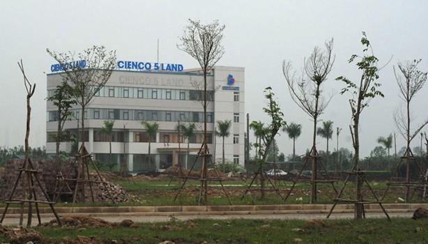 Cienco 5: Cách chức Tổng giám đốc, thu hồi dự án tại Cienco 5 Land