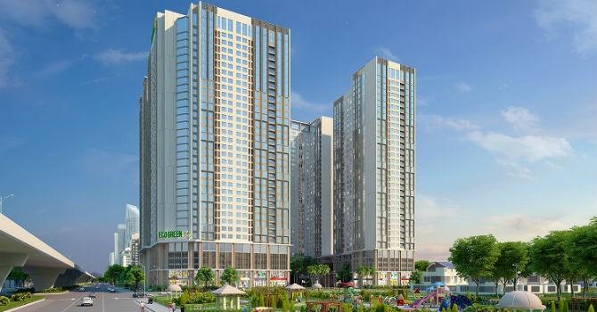 Eco - Green City mở bán đợt cuối toà CT1
