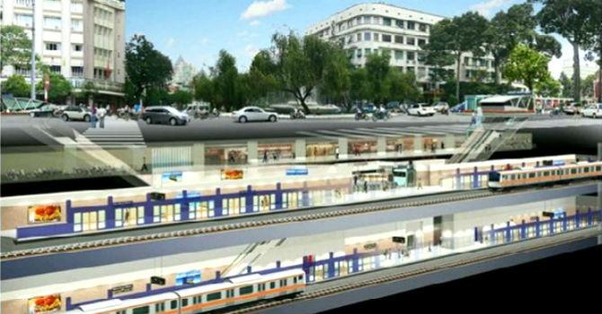 Kiến nghị dùng vốn ODA xây công trình phụ trợ tại trung tâm thương mại ngầm Bến Thành