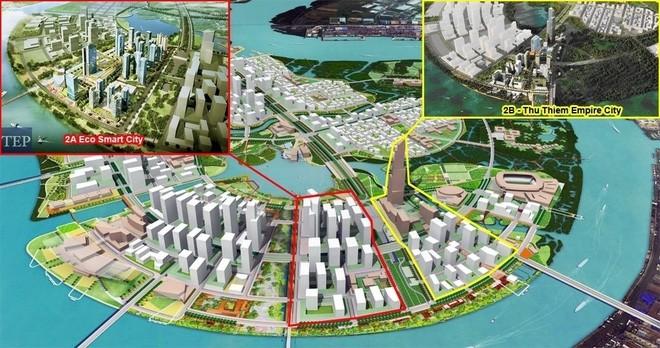 Hàn và Nhật cùng xây khu phức hợp hơn 2 tỷ USD trên bán đảo Thủ Thiêm