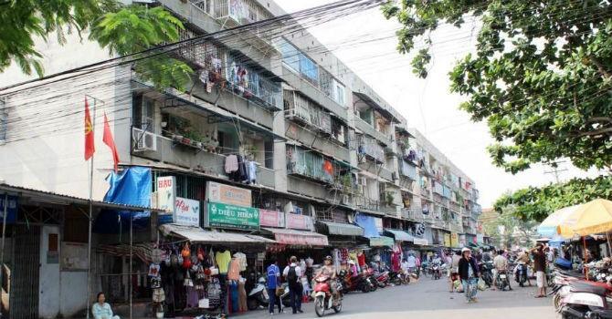 TP.HCM: Di dời khẩn cấp và tháo dỡ chung cư số 350 Hoàng Văn Thụ