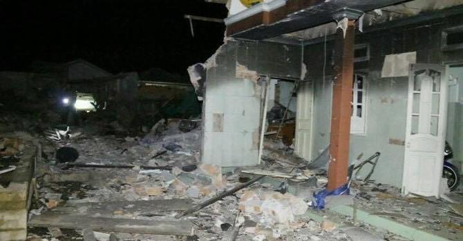 Nổ lớn tại đảo Phú Quý, 5 người nhập viện