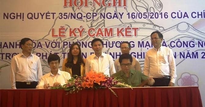 Thanh Hoá cam kết nhiều nội dung hỗ trợ doanh nghiệp