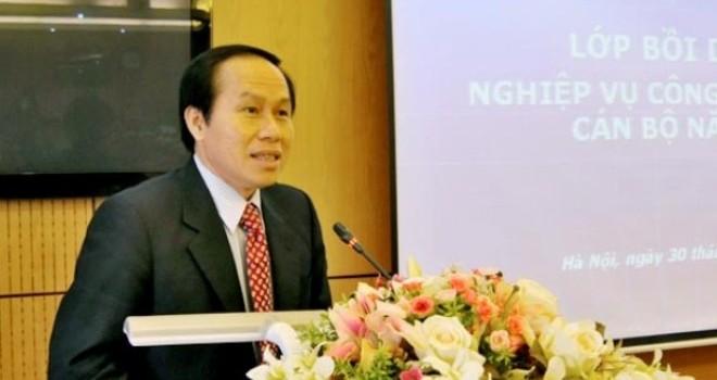 Hiệu trưởng trường Đại học Luật được bổ nhiệm làm Thứ trưởng Bộ Tư pháp