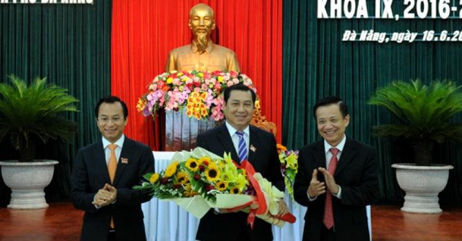 Ông Huỳnh Đức Thơ tái đắc cử chức Chủ tịch UBND thành phố Đà Nẵng
