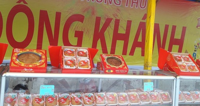 Bánh Trung thu bán sớm 3 tháng ở Sài Gòn
