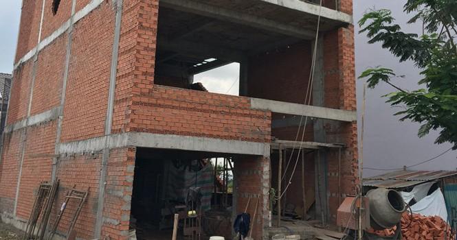 Ngưng cấp giấy phép xây dựng tạm