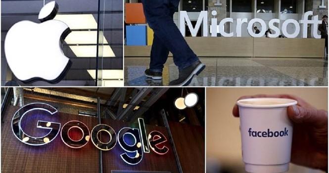 Apple, Google, Facebook sẽ sớm mất vị trí hàng đầu thế giới