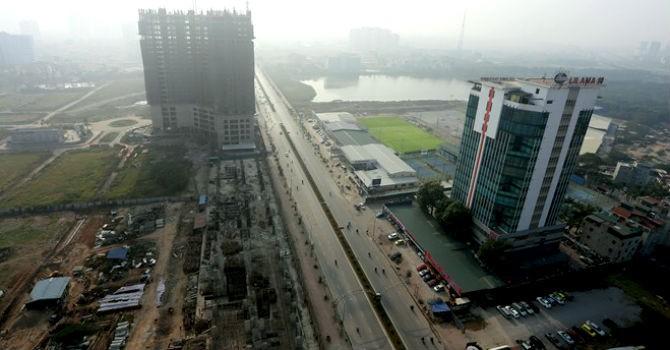 Hà Nội: Duyệt quy hoạch hai bên đường Lê Văn Lương kéo dài