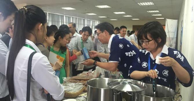 Gần 100 doanh nghiệp Việt Nam và Nhật Bản trao đổi mở rộng kinh doanh thực phẩm Nhật