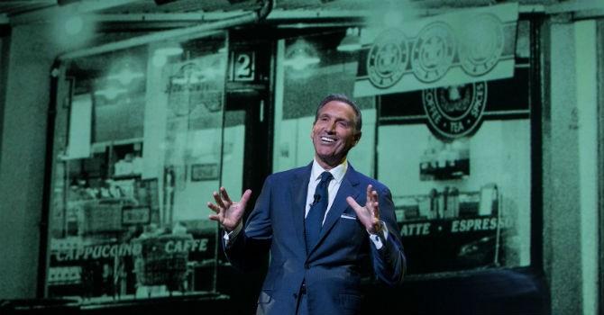 Howard Schultz và hành trình kiến tạo đế chế cà phê 82 tỷ USD Starbucks