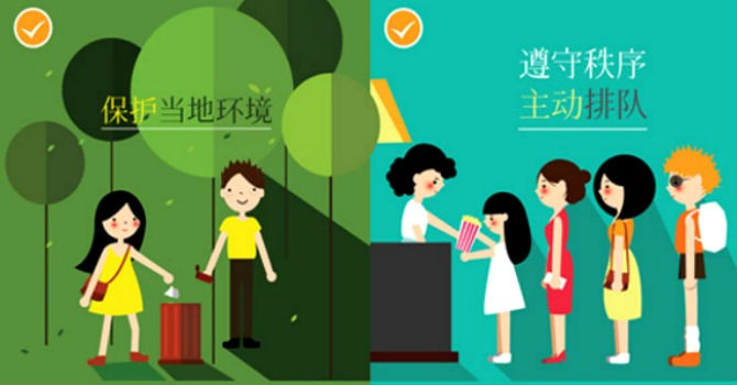Bát nháo khách du lịch Trung Quốc:  Đà Nẵng phát hành bộ quy tắc ứng xử tiếng Trung