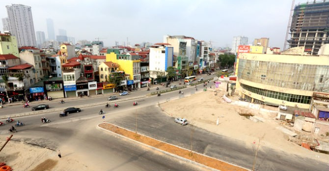 Hà Nội có thêm 26 đường phố mới