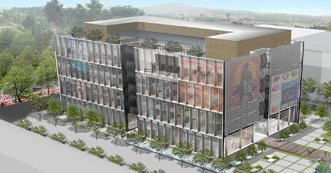 """Constrexim xây trung tâm thương mại hơn 15.800m2 tại """"đất vàng"""" Cầu Giấy"""