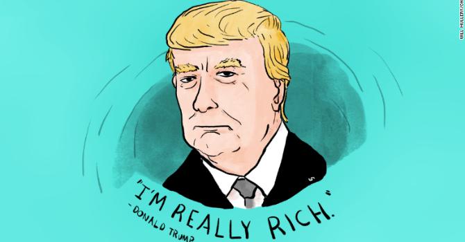 Bloomberg: Donald Trump giàu hơn nhưng nợ cũng tăng gấp đôi