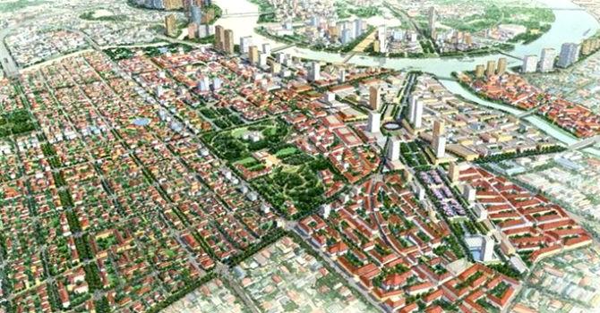 TP.HCM điều chỉnh quy hoạch khu trung tâm hiện hữu thành phố