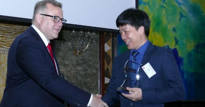 PVcomBank vinh dự được ABF trao tặng 2 giải thưởng uy tín