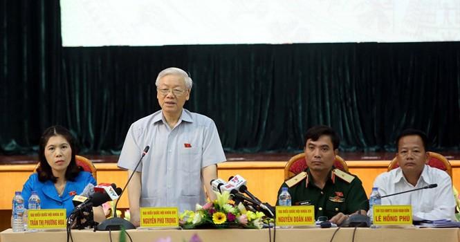 """Tổng bí thư: Vụ Trịnh Xuân Thanh """"còn liên quan người khác"""""""