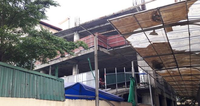 Ba Đình, Hà Nội: Dự án chậm tiến độ biến thành điểm trông giữ xe