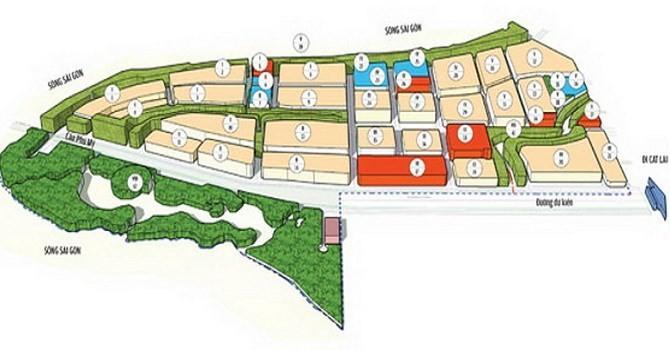 TP.HCM điều chỉnh quy hoạch khu dân cư Thạnh Mỹ Lợi B