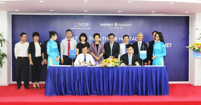 NCB và Tổng công ty bảo hiểm Bảo Việt ký kết thỏa thuận hợp tác