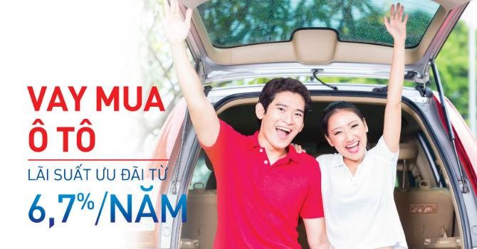 NCB ưu đãi lãi suất 6,7%/năm cho khách hàng vay mua ô tô