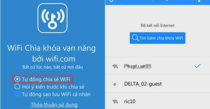 """Xài WiFi """"chùa"""" coi chừng mang họa"""