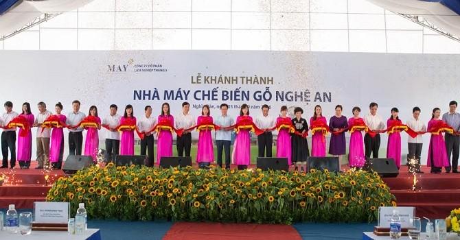 Khánh thành nhà máy chế biến gỗ quy mô lớn tại Nghệ An
