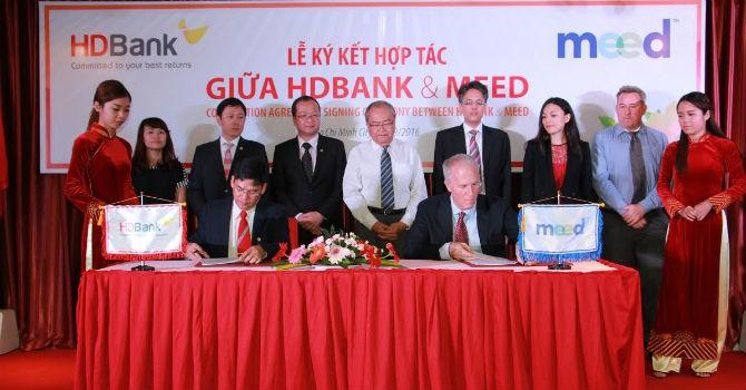 HDBank và MEED ký kết hợp tác về gói sản phẩm dịch vụ MEED