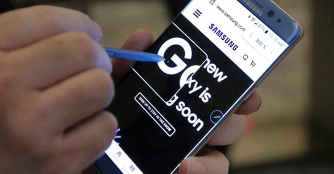 Samsung sắp tung ra loạt điện thoại Galaxy Note 7 thay thế