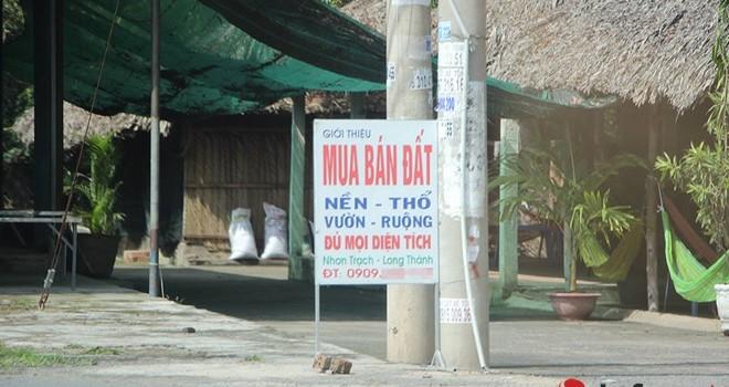 """Đằng sau cơn """"sốt"""" đất nền Nhơn Trạch, Đồng Nai"""