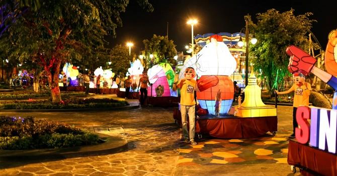 Kỳ ảo lễ hội đèn lồng Asia Park