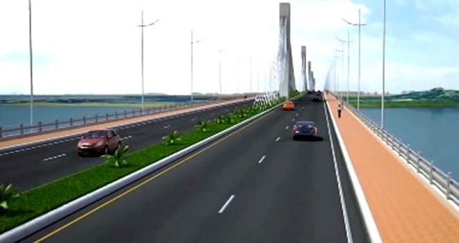 Quảng Ngãi: 2.800 tỷ đồng xây cầu Cửa Đại vượt sông Trà Khúc