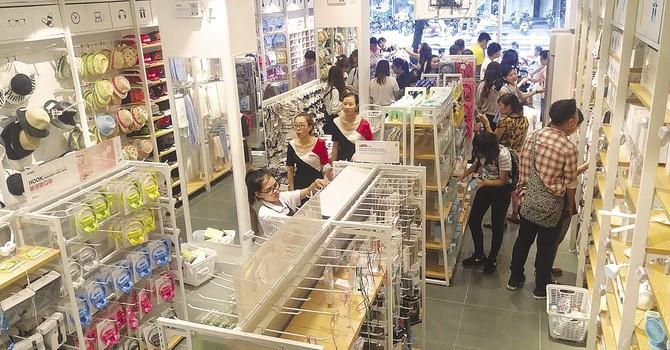 """""""Chuỗi siêu thị bán lẻ tỷ đô Miniso"""" Nhật Bản là thương hiệu Trung Quốc?"""