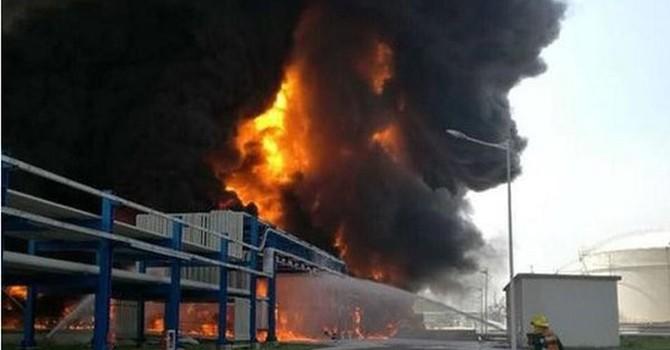 Nổ nhà máy hóa chất ở Trung Quốc, 6 người thiệt mạng
